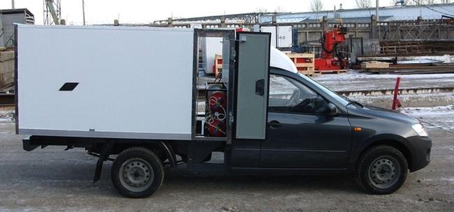 Wernox ВИС 2349, битопливный автомобиль на метане