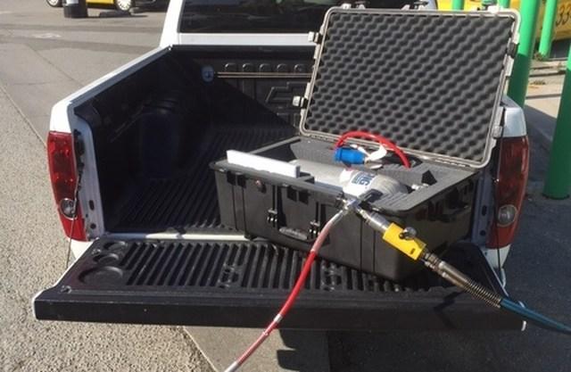 eCNG, походный набор для заправки природным газом