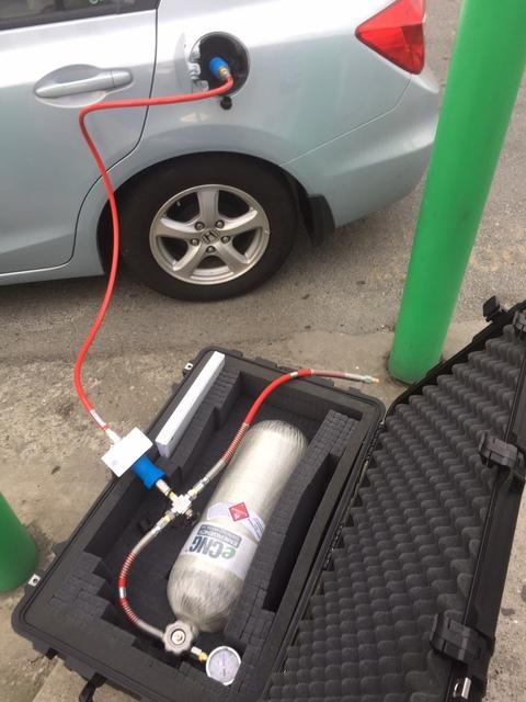 eCNG, набор для заправки газомоторным топливом