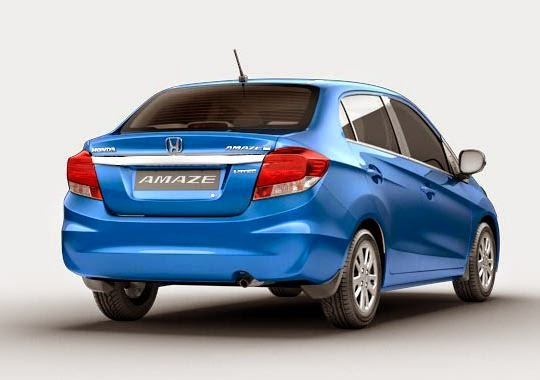 автомобиль на метане, Honda Amaze CNG, 2015
