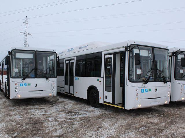газовые автобусы НЕФАЗ 5299-30-51 на метане