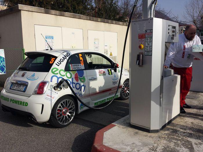 Fiat 500 на природном газе