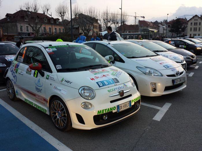 Ecomotori Fiat 500 CNG, на газомоторном топливе метане