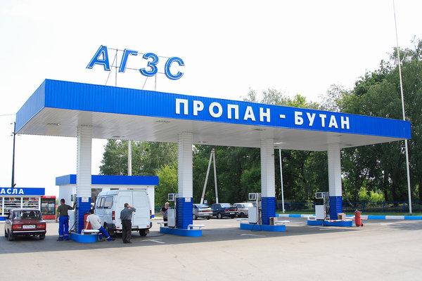 АЗС, заправка сжиженным углеводородным газом, СУГ, пропан-бутан, Нижний Новгород