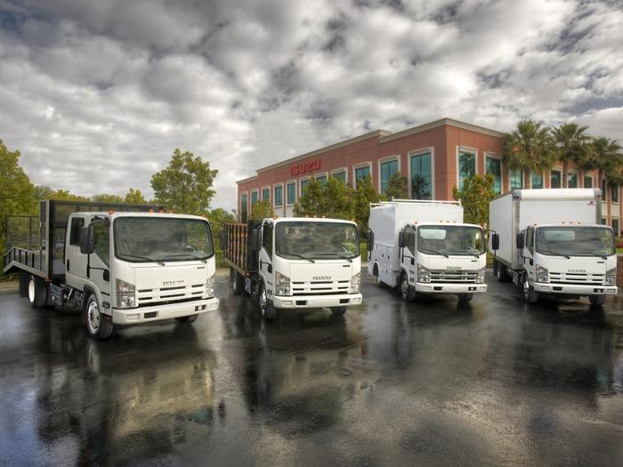 грузовики Isuzu CNG