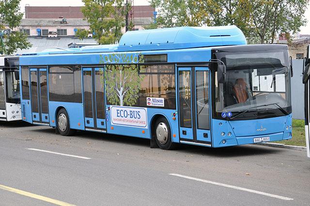 газовый автобус МАЗ 203965 на природном газе