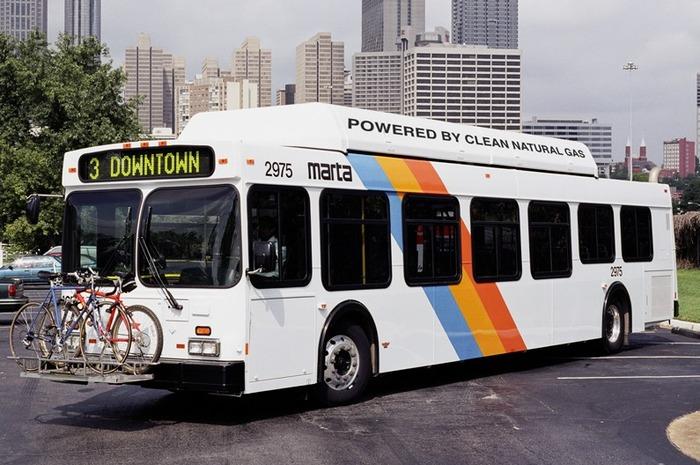 Газовый автобус, New Flyer NABI LFW low floor CNG