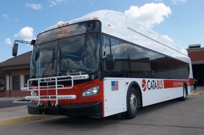 автобус на метане, New Flyer Xcelsior CNG