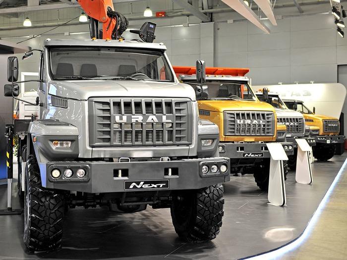4 модели грузовиков Урал NEXT на выставке СТТ-2015