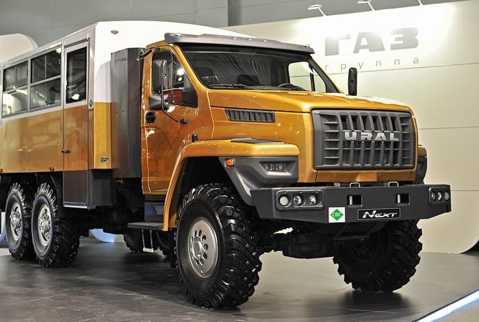вахтовый грузовик Урал NEXT