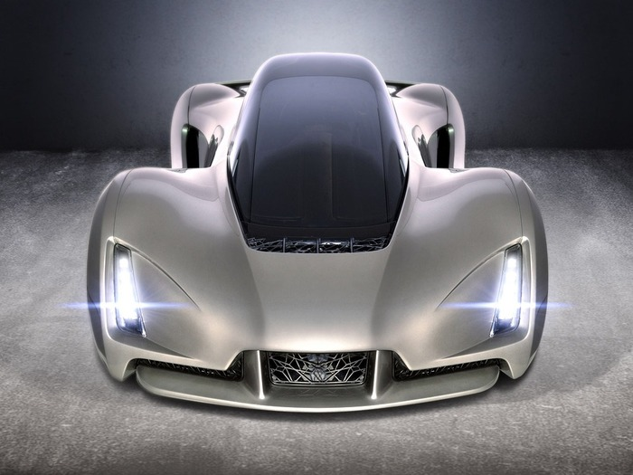 Блэйд, суперкар, созданный на 3D-принтере
