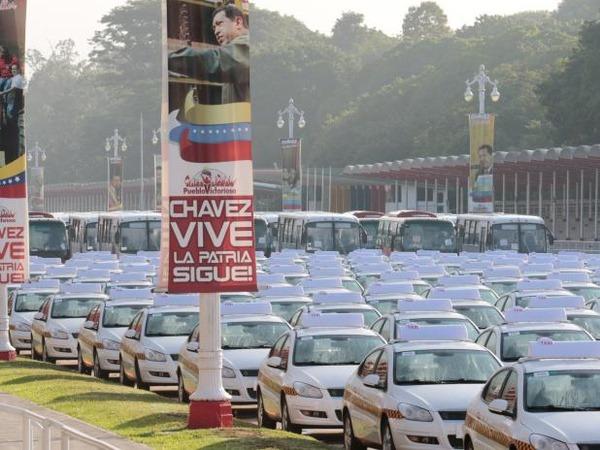 такси Chery Orinoco CNG в Венесуэле