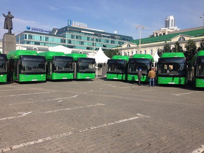 автобусы МАЗ на метане, екатеринбург