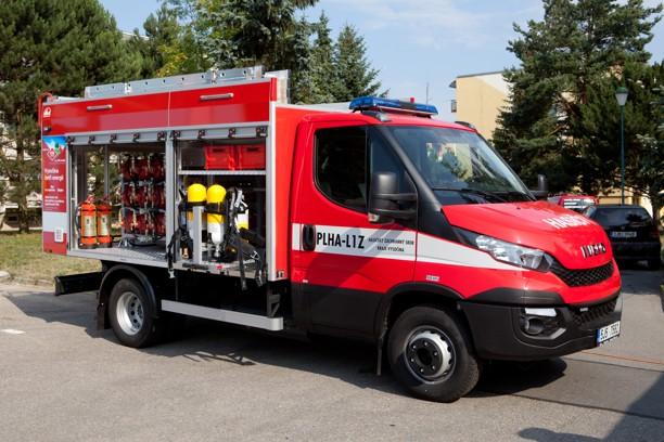 Пожарная машина на природном газе, Чехия