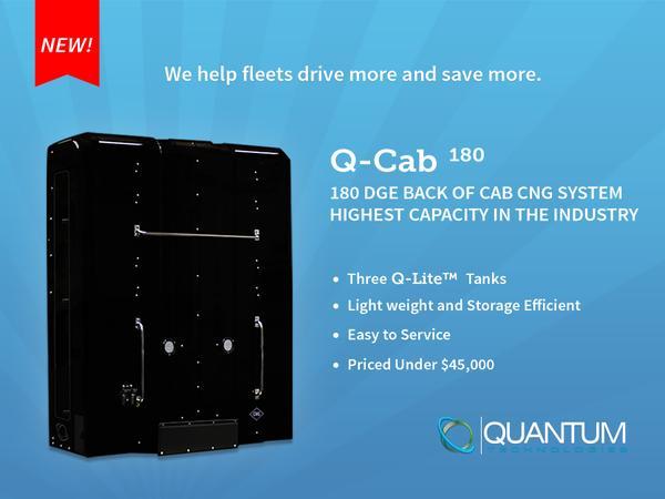 метановый топливный модуль Quantum Q-cab 180 DGE