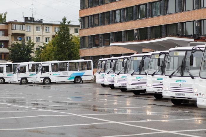 Автобусы ПАЗ на метане, Тосно