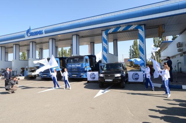 УАЗ Патриот на природном газе, автопробег Газпром