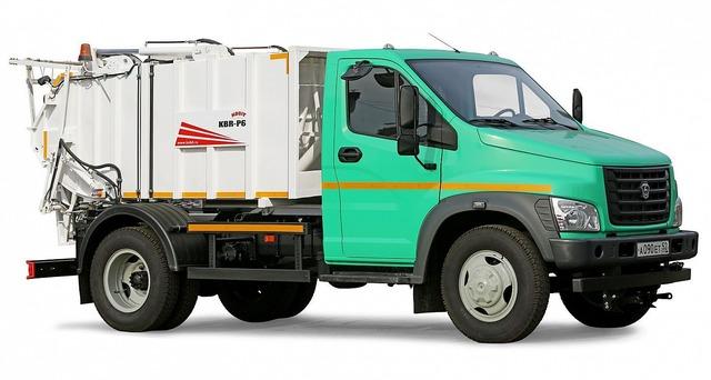 мусоровоз Газон NEXT на природном газе, метан