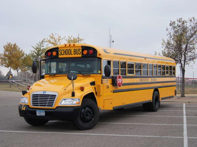 автобус на метане, Blue Bird Vision Type C CNG
