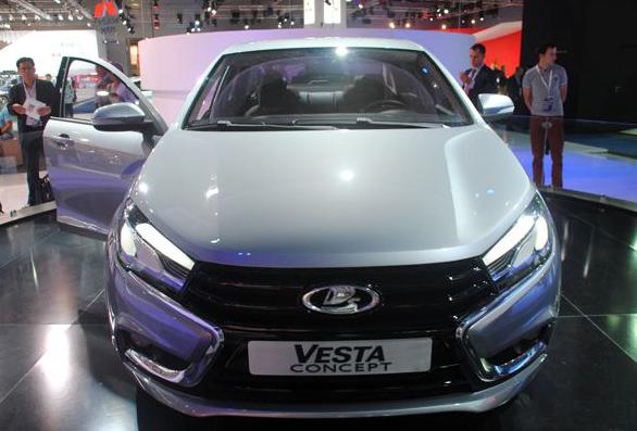 Lada Vesta CNG на газомоторном топливе