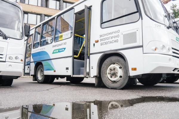 автобусы ПАЗ на природном газе в Тосно