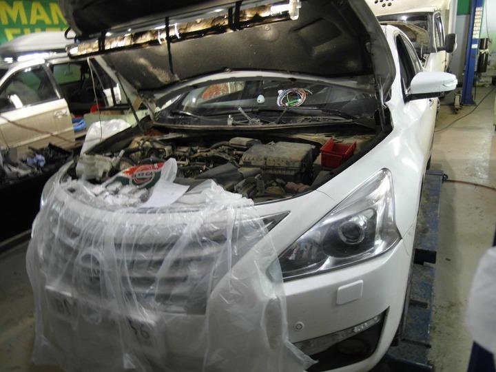 Nissan Teana (L33), двигатель QR25DE, регулировка тепловых зазоров клапанов