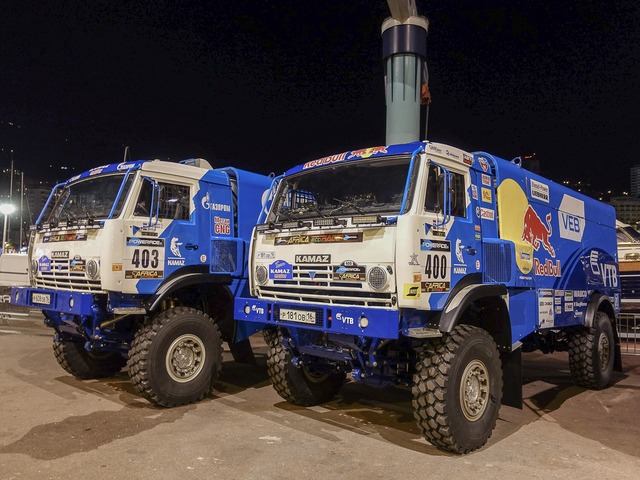 грузовики Камаз-мастер на ралли AFRICA RACE 2016