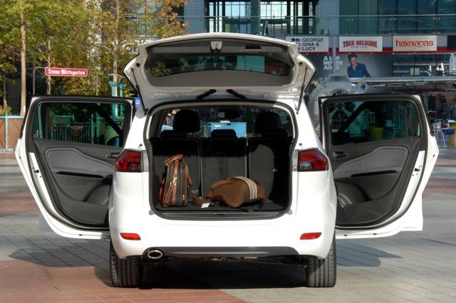 Opel Zafira Tourer CNG на природном газе