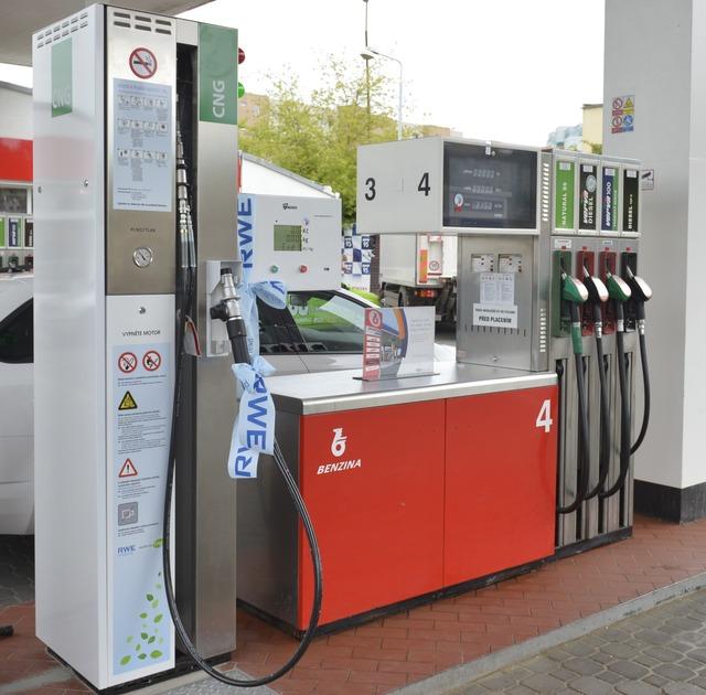 Метановая заправка (АГНКС) RWE