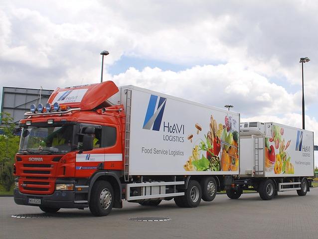 Тягач Scania на службе Havi Logistics