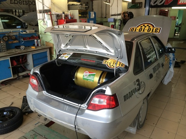 Такси на метане