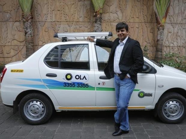 Такси Ola Cabs на природном газе