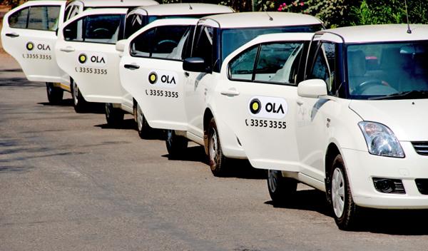 Метановые Такси Ola Cabs в Индии