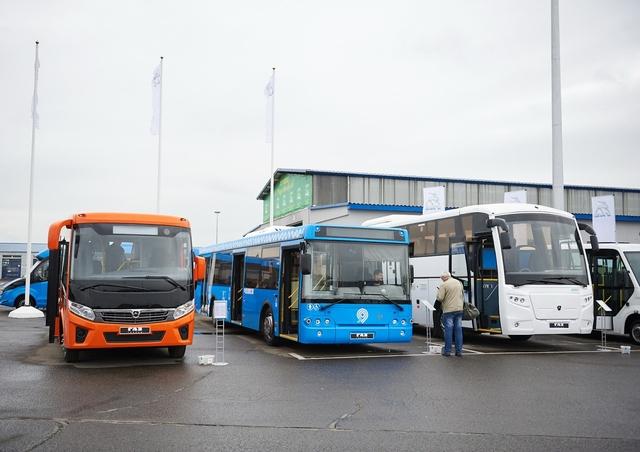 Автобусы группы ГАЗ на выставке Мир Автобусов 2016