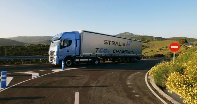 Iveco New Stralis NP, грузовик на природном газе