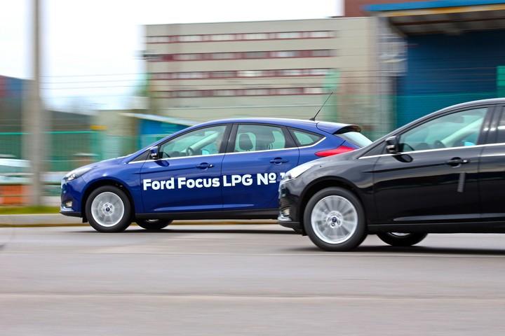 Ford Focus LPG, форд фокус на пропане