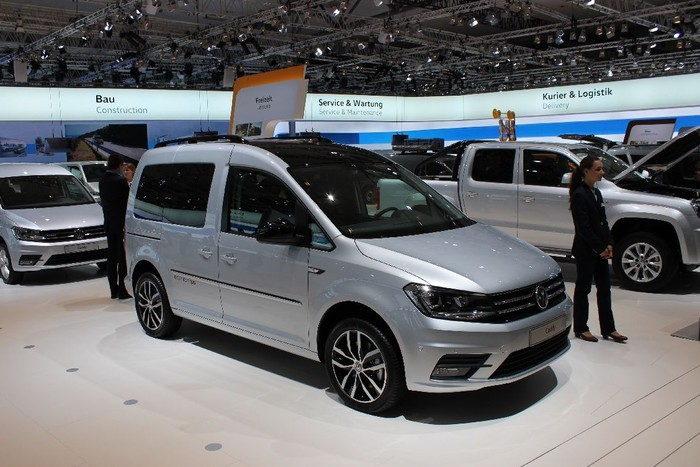 Volkswagen Caddy Edition 35 TGI на выставке IAA 2016