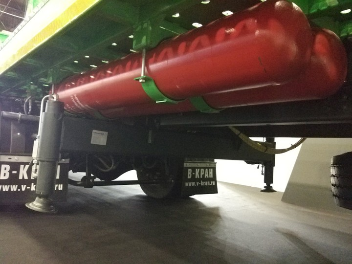метановые баллоны на Газоне NEXT CNG 2016