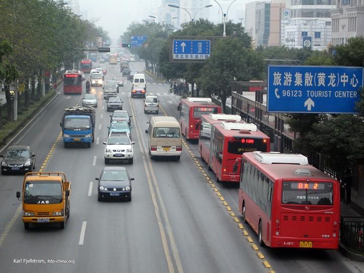 Ханчжоу, городские автобусы, общественный транспорт