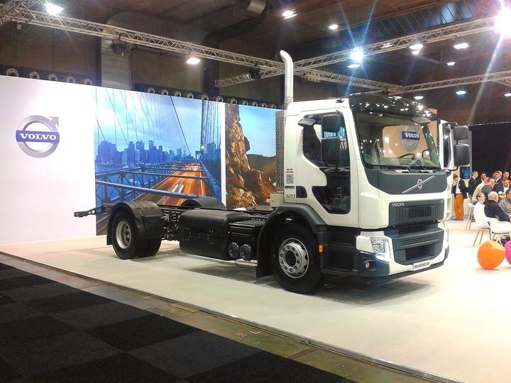 Volvo FE CNG, грузовик на природном газе
