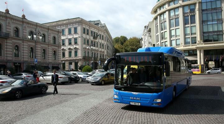 Метановые автобусы MAN CNG, Тбилиси