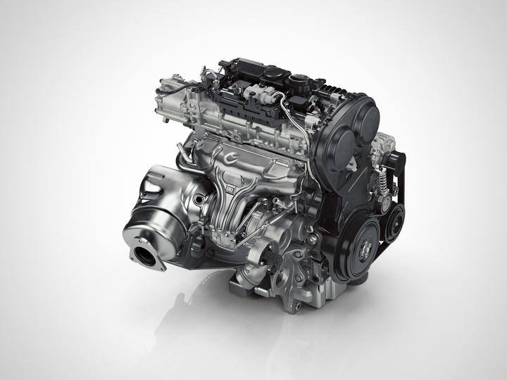двигатель Volvo Drive-E T5