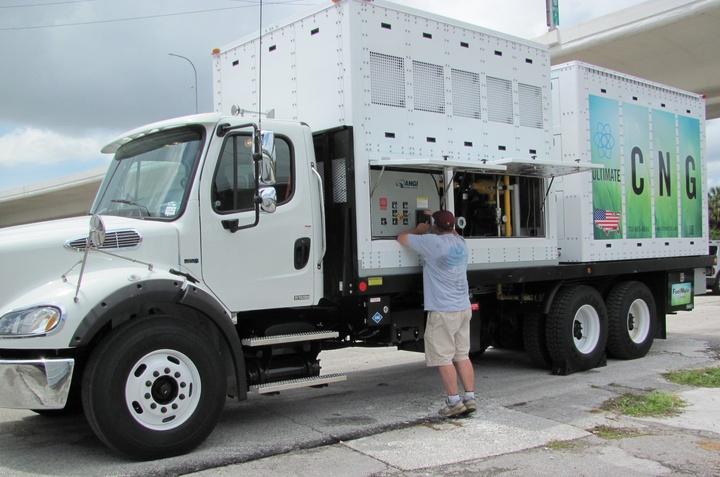 передвижной заправщик метаном, FuelMule CNG