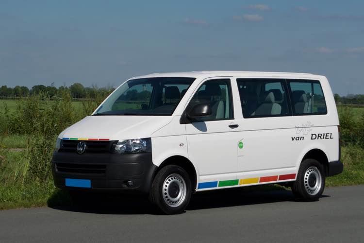 Volkswagen Transporter T6 на природном газе