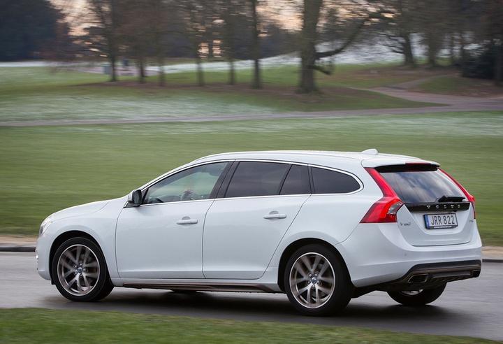 газовая модель, Volvo V90 bi-fuel, на природном газе