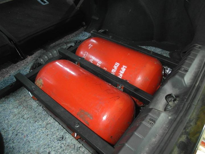 Метановые баллоны 39 литров 1 типа, Lada Vesta CNG