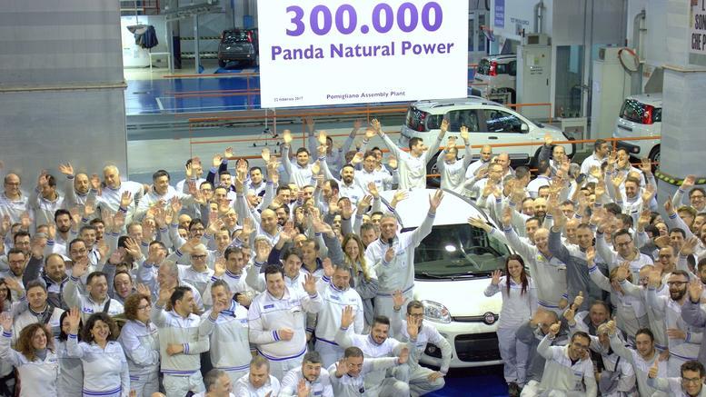 FIAT выпустил 300000й автомобиль Panda на метане