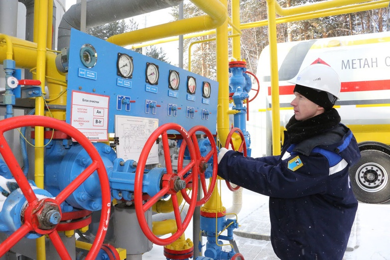 На комплексе по сжижению природного газа в Первоуральске