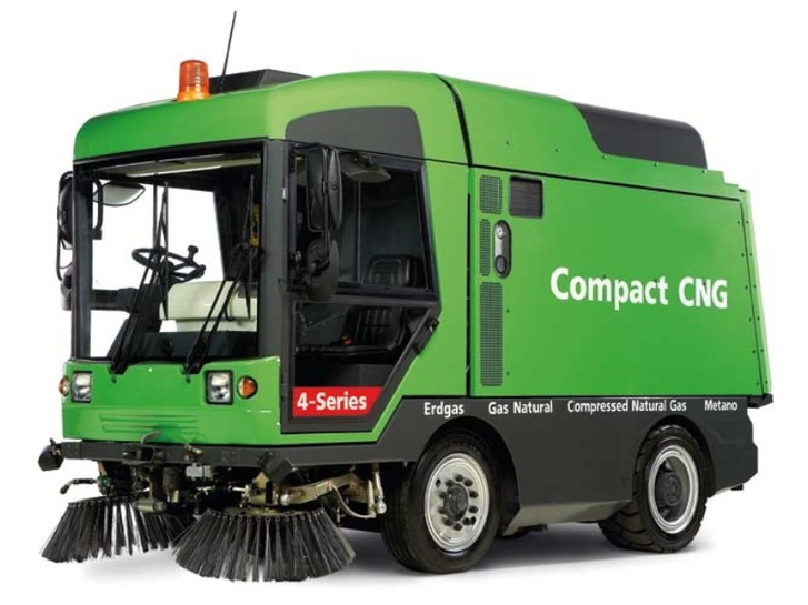 Ravo Compact CNG, подметальная машина на природном газе