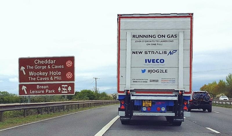 IVECO New Stralis NP на дорогах Великобритании